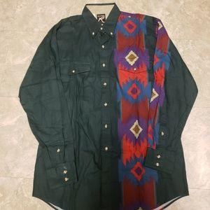 Vintage roper button up shirt size large